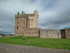Das Broughty Ferry Castle